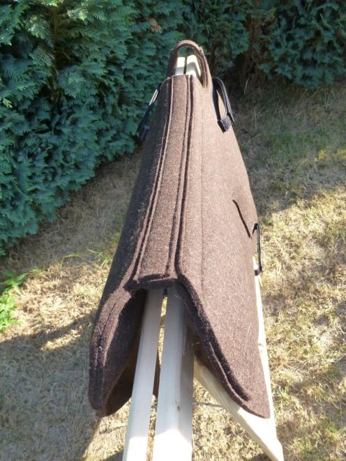 Krakeltier fertigt das TheraPad aus reinem Wollfilz.