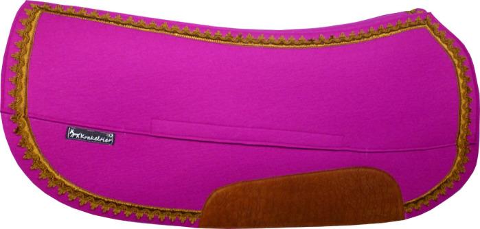 Viele verschiedene Wollfilz-Farben sind machbar, ob auffällig oder dezent, alles ist möglich.