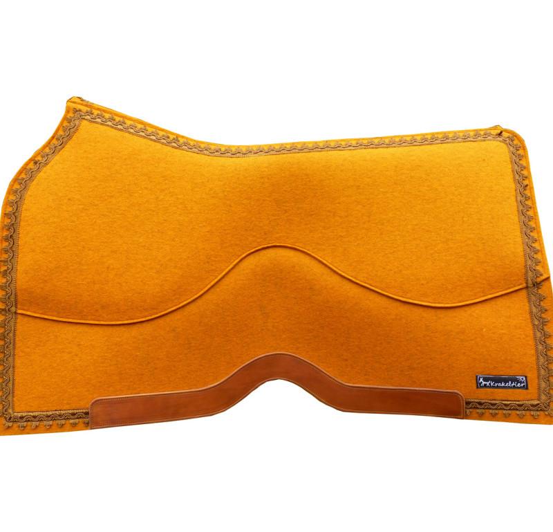 Das Krakeltier-Westernpad ist auch als Vario-pad erhältlich und lässt sich dann einfach umpolstern.